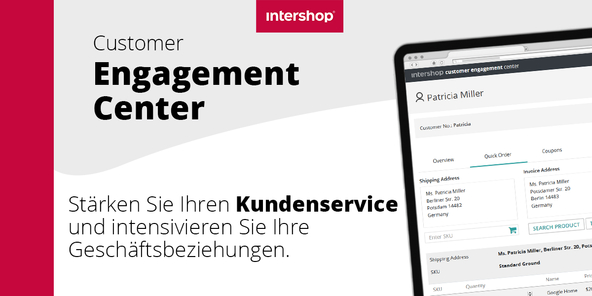 Intershop Customer Engagement Center