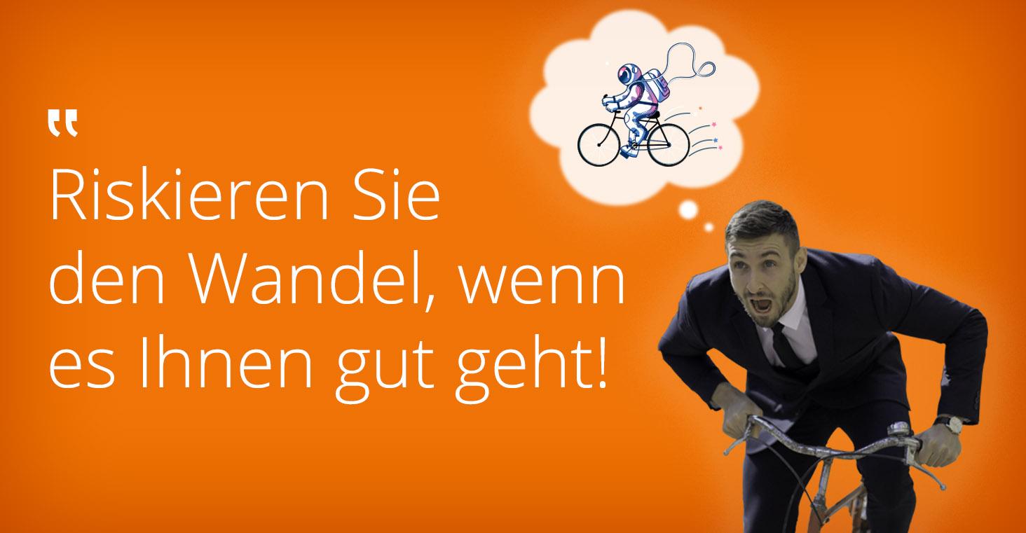 digitale transformation Fahrradhaendler