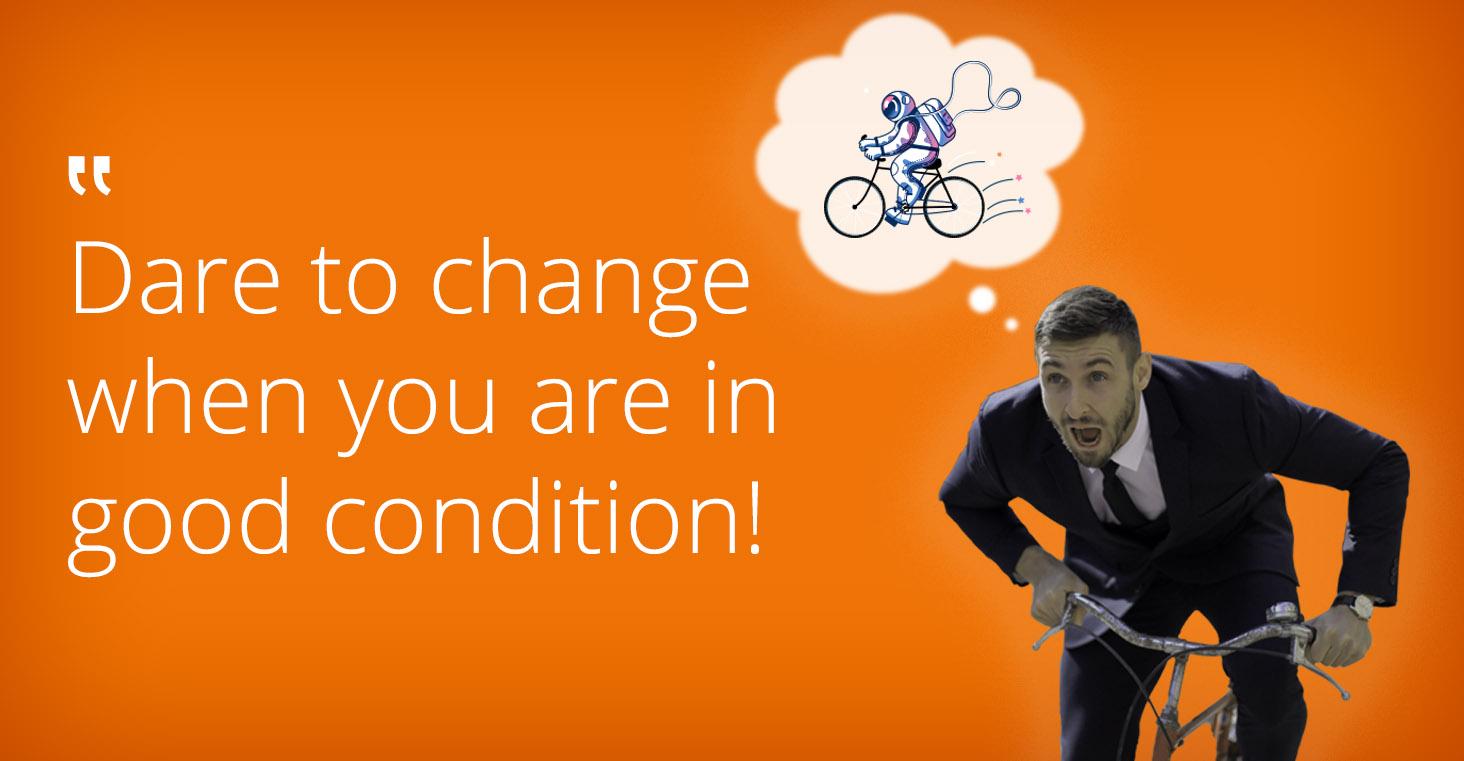 digital transformation bike vendor