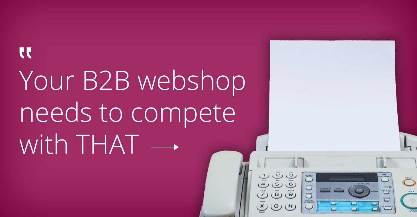 B2B online shops look like B2C