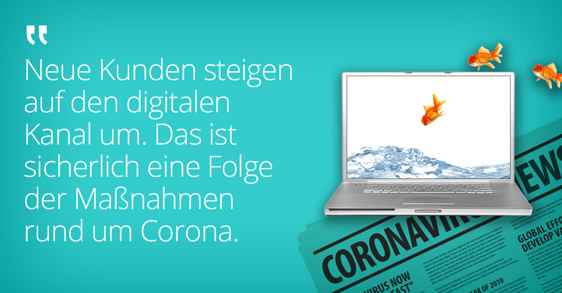 Corona-Pandemie und das B2B Online-Geschäft: Was sind die Veränderungen?
