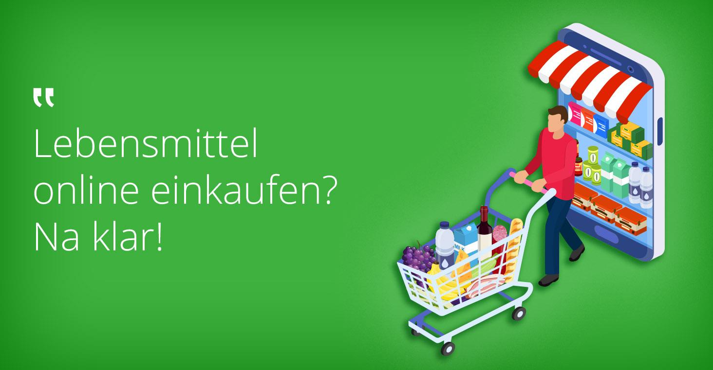 Lebensmittel online einkaufen - die Vorteile