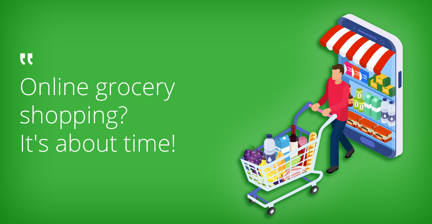 the potential of online grocery shopping