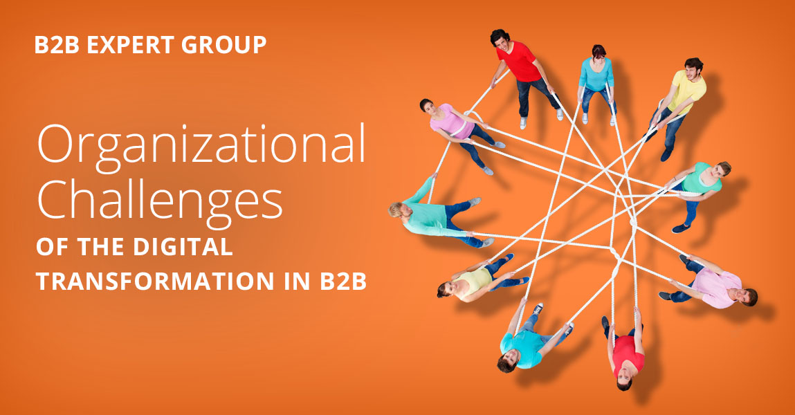 set up a B2B ecommerce team successfully