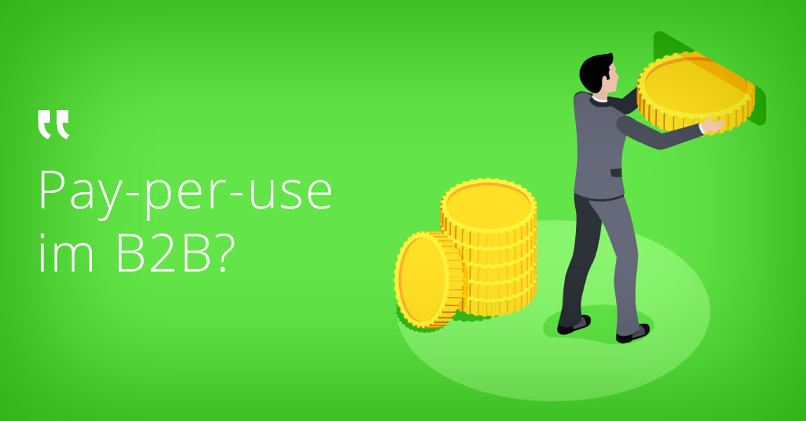 IoT ermöglicht es dem Maschinenbau, auf lukrativere Geschäftsmodelle umzusteigen: Pay-per-use zum Beispiel.